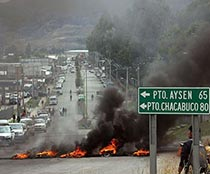 Aysén, el otro incendio de la Patagonia