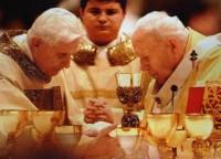 vaticano benedicto-XVI-juan-pablo-II