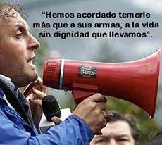 La voz que pronuncia en el sur de Chile