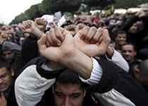 Túnez: se teme un 1º de mayo violento por represión gubernamental