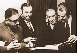 Lagos Nilsson / Allende, Alwyn y un tal Escalona