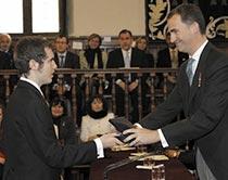 El discurso que recibió al delegado de Parra en Alcalá de Henares