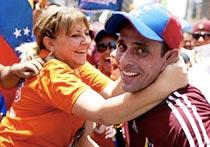 Venezuela, los candidatos en las huinchas: Capriles y la primera marcha