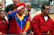 Venezuela, los candidatos en las huinchas: la marcha con Chávez