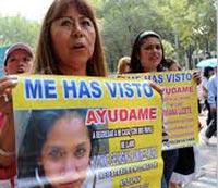 México: mujeres que desaparecen y son asesinadas y al gobierno no le importa