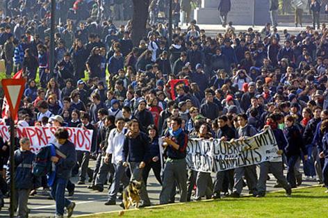 chile protesta-estudiantes