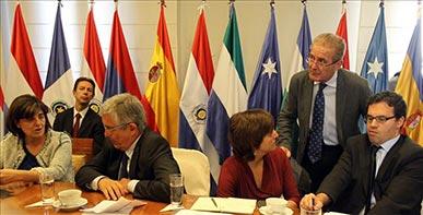 Europarlamentarios en Paraguay: el país no está en paz