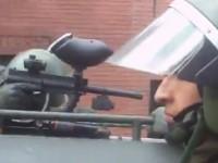 Chile apaleado y gaseado o la Ley Hinzpeter ya en acción
