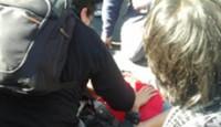 Gravísimo, dicen los estudiantes chilenos: «La quema de micros es un montaje»