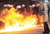 LA POLICÍA REPRIME EN ATENAS UNA MANIFESTACIÓN CONTRA ACUERDOS DE LA TROIKA