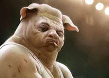 El revés de la guerra del cerdo o en Chile se fueron al chancho