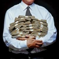 dolares abrazados