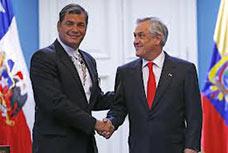 Dichos de Rafael Correa en Chile o la diplomacia no quita consecuencia