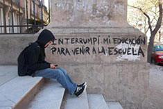 "Estudiantes: ""El tema es el poder, el poder te corrompe caleta… queda gustando"""