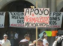 México: dialogar sin fuerza es someterse al poder: ni un paso atrás