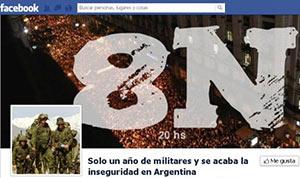Cacerolazo en Argentina: Yo no voy