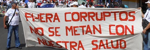 Costa Rica: democracia a porrazos