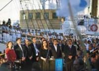 ARGENTINA-GHANA-SHIP-LIBERTAD