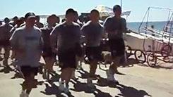 Chile, cánticos marinos: la milicia no ha cambiado, pero se investigará