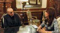 vaticano Jorge-Bergoglio-Cristina-Fernandez