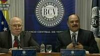 Giordani con Merentes, presidente del Banco Central