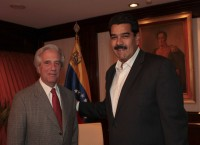 Maduro con Tabaré Vázquez