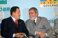 Chavez y Lula