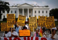 En Washington, contra la invasión a Siria