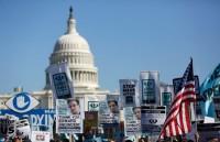 Manifestación en Washington: dejen de espiarnos