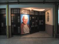 La capilla del actual Liceo Aeronáutico, donde en 1978 funcionó un campo clandestino de concentración.