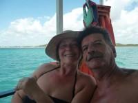 Mato y Juliana de Sarro en playas de Brasil