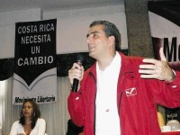 Otto Guevara, Movimiento Libertario