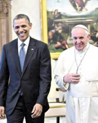 papa y obama