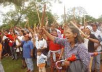 par campesinos protestan