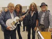 Mujica con Aerosmith