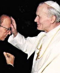 Juan Pablo II y el pederasta sacerdote mexicano Marcial Maciel