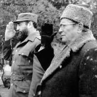 Fidel Castro y Joseph Broz Tito