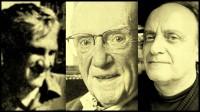 Oscar Varsavsky, Manuel Sadosky y Andrés Carrasco, admirados maestros y colegas de la cientifica Sara Rietti.
