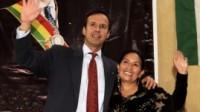 Jorge Quiroga y Tomasa Yarhui
