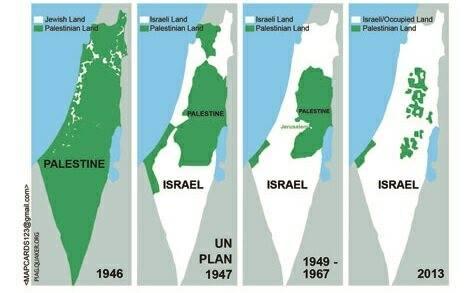israel-palestina mapa