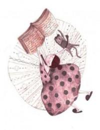 Leyendo cómodamente. Ilustración de Adriana Gheorghe