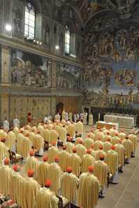 vaticano misa cardenales