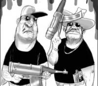 narco caricatura