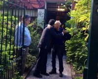 El 1 de marzo, Evo visitó a Galeano en Montevideo: la despedida