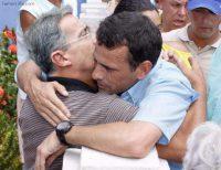 Capriles con Uribe, todo el apoyo