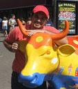 CowParade en Costa Rica. –  COMO SIEMPRE, ESTAFADOS ARTISTAS Y SOCIEDAD