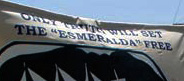 La Esmeralda  – NO SURCA EL MAR, SINO PENA