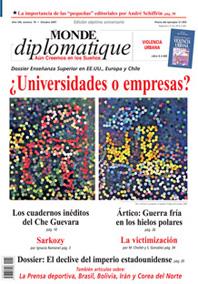 Monde Diplomatique en Chile.  –  SIETE AÑOS. MILLONES DE PÁGINAS EN EL MUNDO