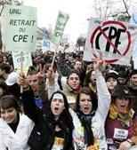 Reflexiones.  – LA PROTESTAS SOCIALES EN FRANCIA