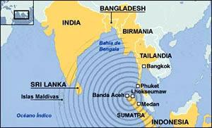 Maremoto: ¿de dónde viene la ola?